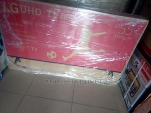 LG 55 Inches Uhd TV 4K Stream Smart TV | TV & DVD Equipment for sale in Oyo State, Ibadan