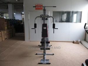 One Station Gym With Covered Weights   Sports Equipment for sale in Lagos State, Ikeja