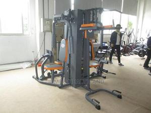 Jumbo Four Station Gym Multistation Gym Equipment   Sports Equipment for sale in Lagos State, Ikeja