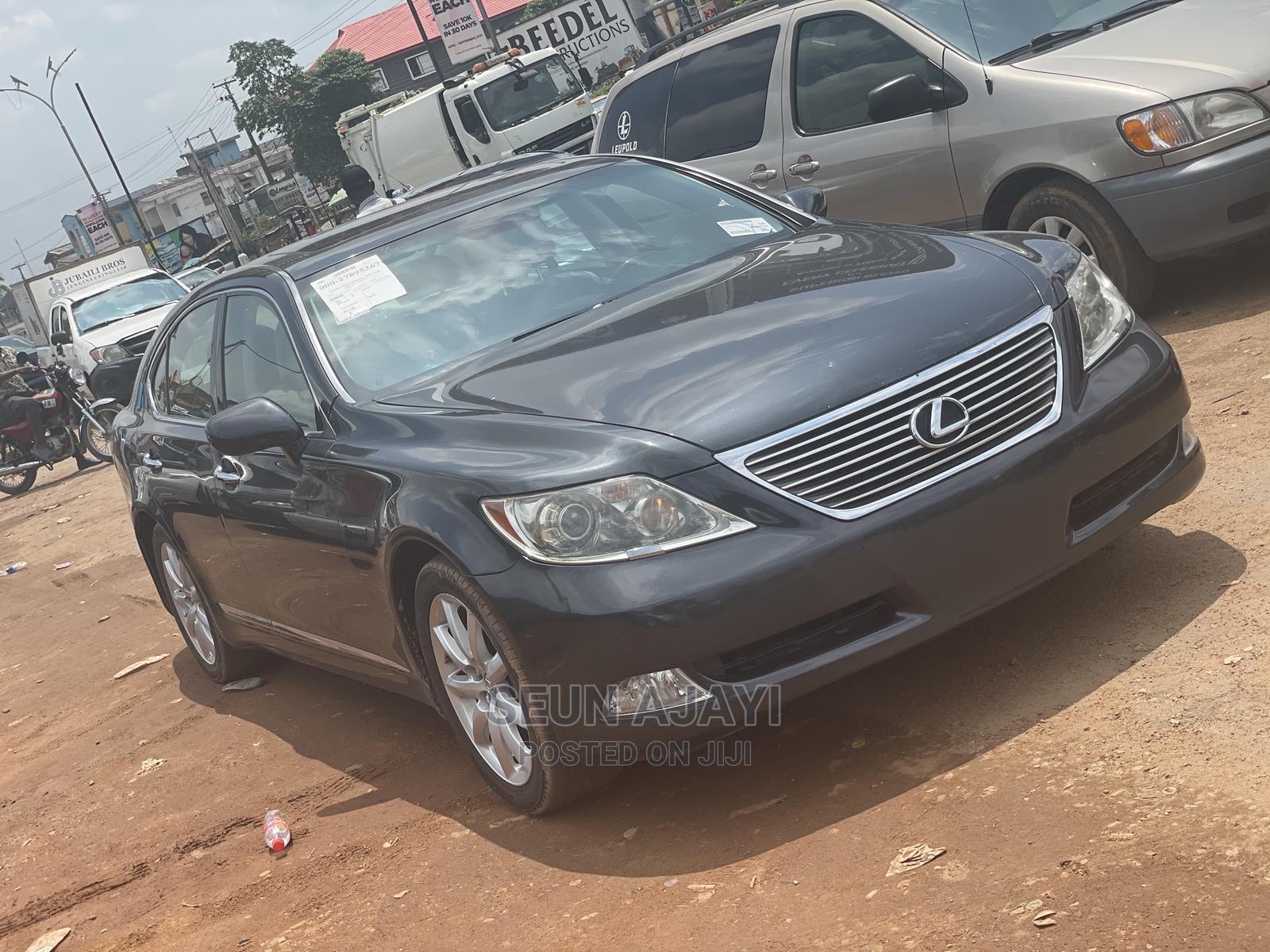 Lexus LS 2007 460 Gray   Cars for sale in Ibadan, Oyo State, Nigeria