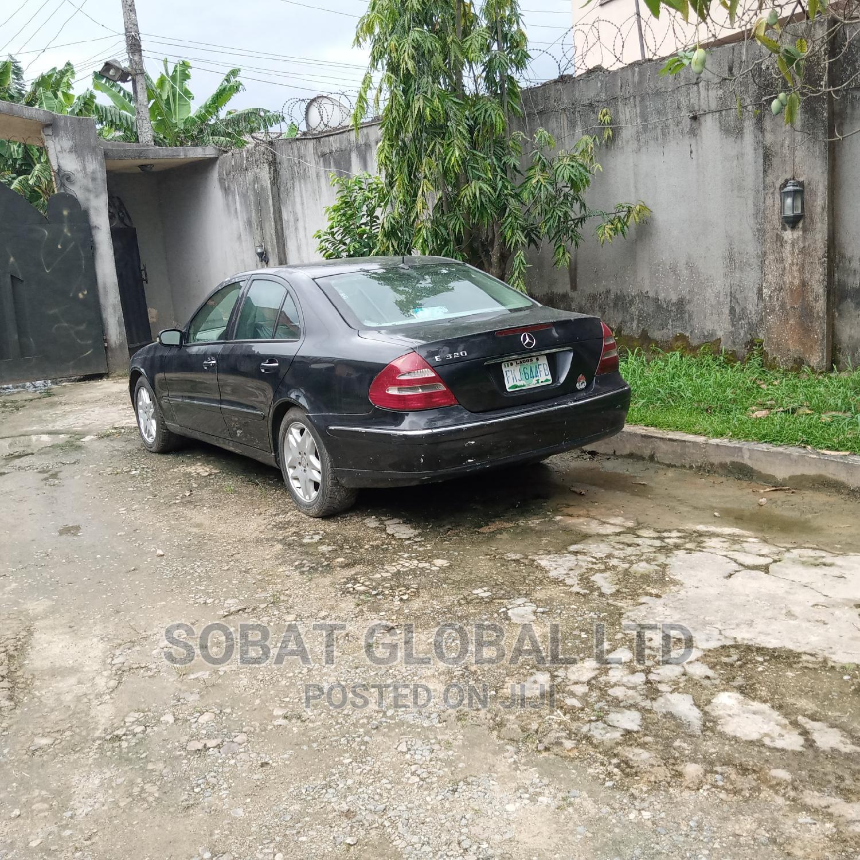 Mercedes-Benz E320 2003 Black   Cars for sale in Sapele, Delta State, Nigeria