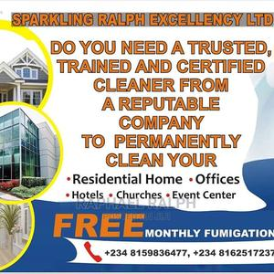 Professional Cleaning Services | Cleaning Services for sale in Abuja (FCT) State, Guzape District
