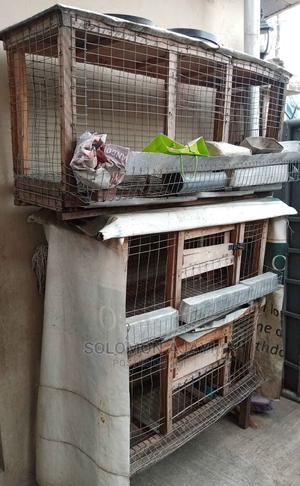 Wooden Poultry Cage   Farm Machinery & Equipment for sale in Lagos State, Surulere