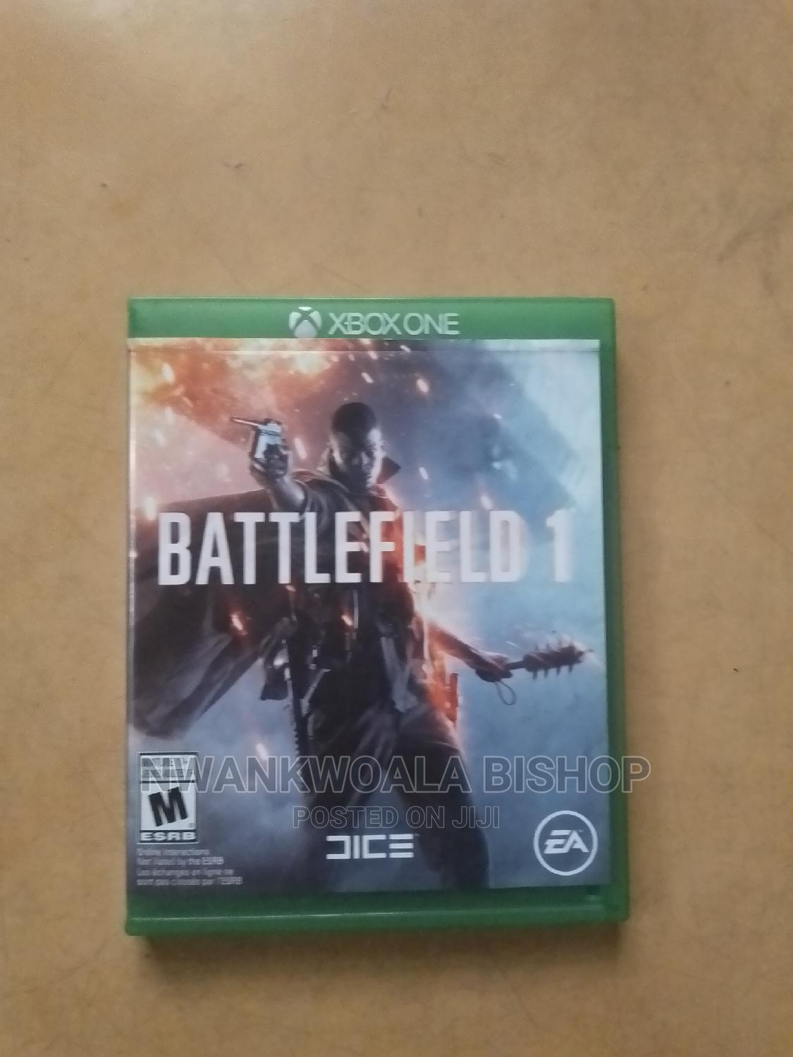 Archive: Battlefield 1 Xbox One Consoles Game