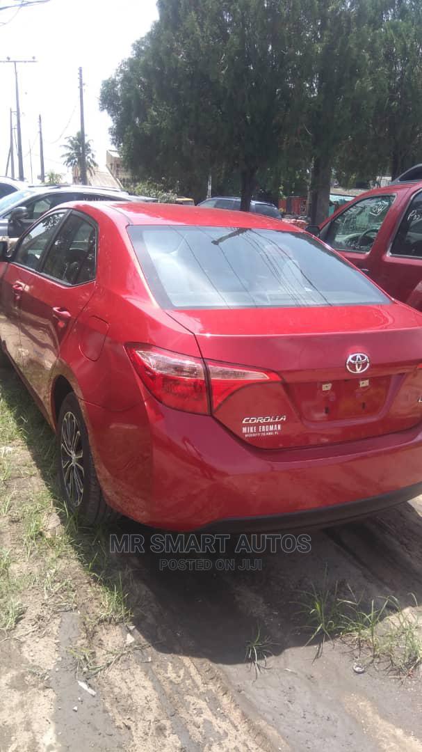 Toyota Corolla 2018 LE (1.8L 4cyl 2A) Red   Cars for sale in Amuwo-Odofin, Lagos State, Nigeria