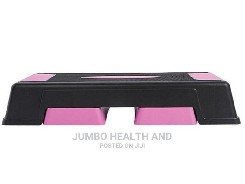 Aerobic- Step Board Pink Black