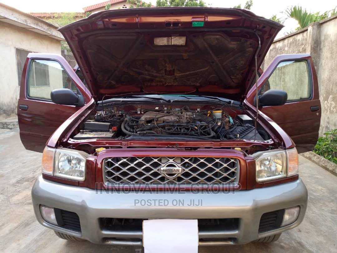 Nissan Pathfinder 2002 SE AWD SUV (3.5L 6cyl 4A) Red | Cars for sale in Ikorodu, Lagos State, Nigeria