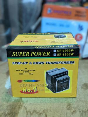 Super Power 1500W Step Up Stepdown Transformer | Electrical Equipment for sale in Lagos State, Ojodu