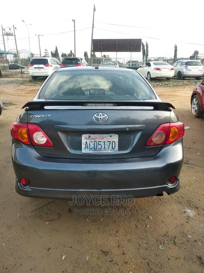 Toyota Corolla 2010 Gray   Cars for sale in Warri, Delta State, Nigeria