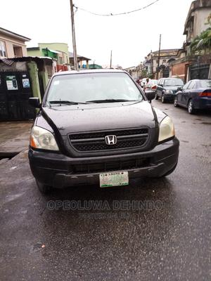 Honda Pilot 2005 EX-L 4x4 (3.5L 6cyl 5A) Black | Cars for sale in Lagos State, Magodo