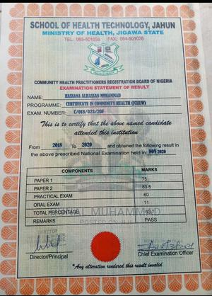 Healthcare Nursing CV   Healthcare & Nursing CVs for sale in Kano State, Gwale