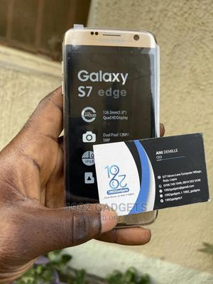 Samsung Galaxy S7 edge 32 GB Gold   Mobile Phones for sale in Lagos State, Ikeja