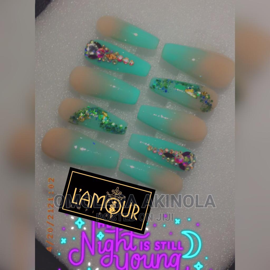 Archive: Readymade/ Press-On Nails, Makeup Gele