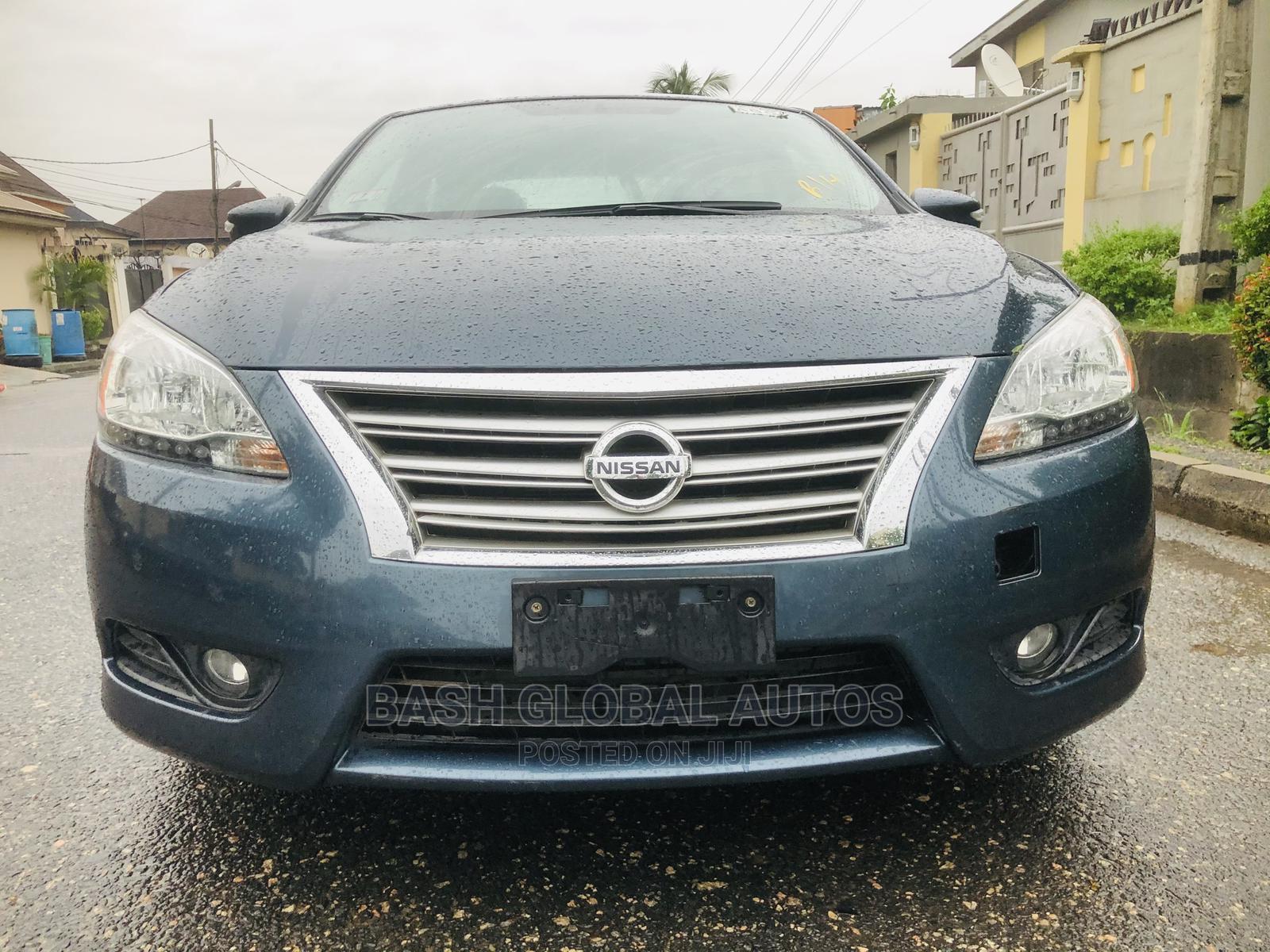 Nissan Sentra 2013 SR Blue