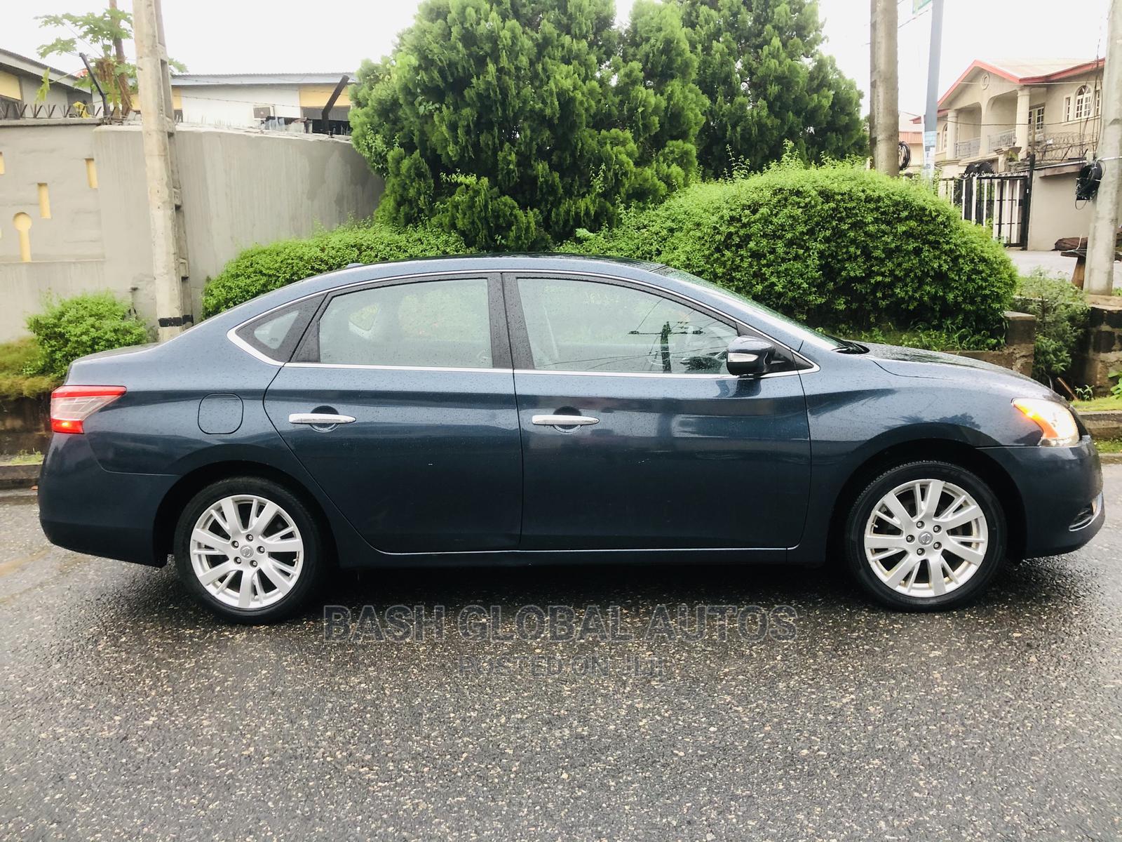 Nissan Sentra 2013 SR Blue   Cars for sale in Ikeja, Lagos State, Nigeria
