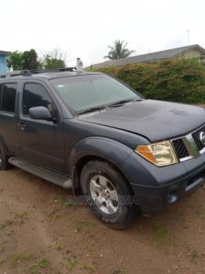 Nissan Pathfinder 2003 SE AWD SUV (3.5L 6cyl 4A) Matt Black | Cars for sale in Ogun State, Ijebu Ode