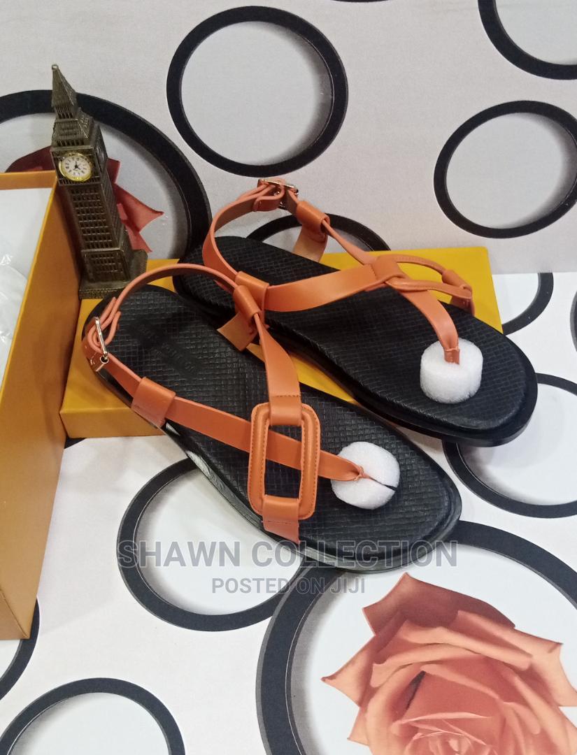 Louis Vuitton Luxury Men Leather Sandals   Shoes for sale in Lagos Island (Eko), Lagos State, Nigeria