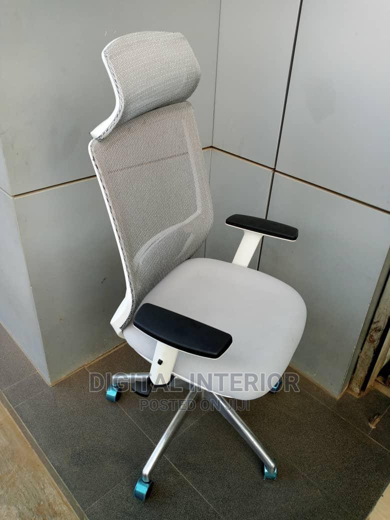 Italian Executive White Office Chair