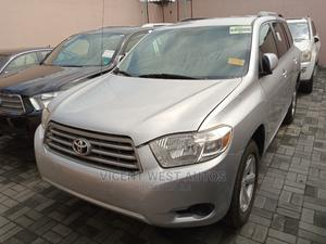 Toyota Highlander 2008 4x4 Silver   Cars for sale in Lagos State, Surulere