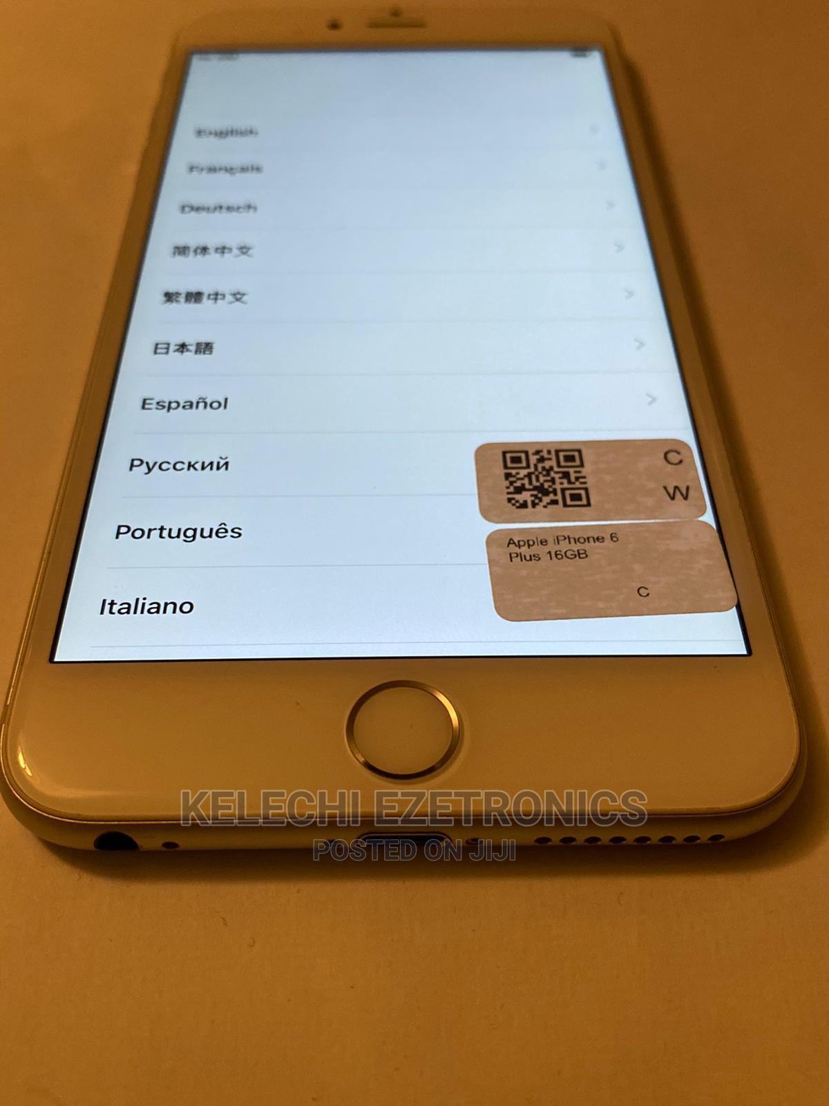 Apple iPhone 6 Plus 16 GB Silver | Mobile Phones for sale in Ikeja, Lagos State, Nigeria