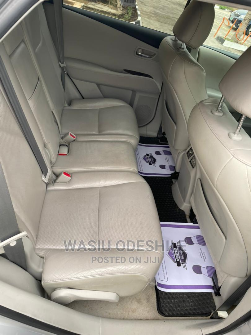 Lexus RX 2012 350 AWD Silver | Cars for sale in Alimosho, Lagos State, Nigeria