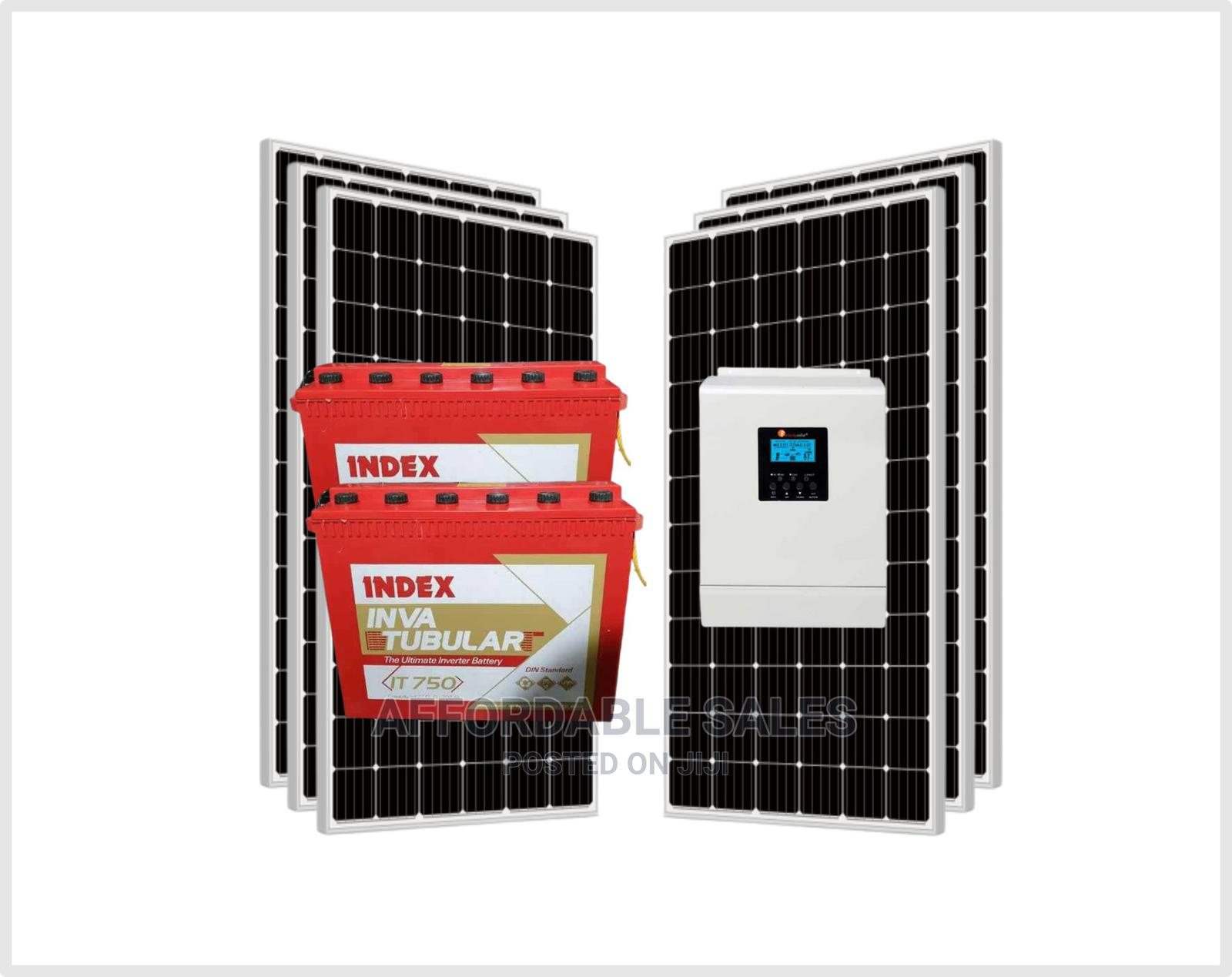 Unlimited Power With 3KVA Solar Complete With 60A MPPT