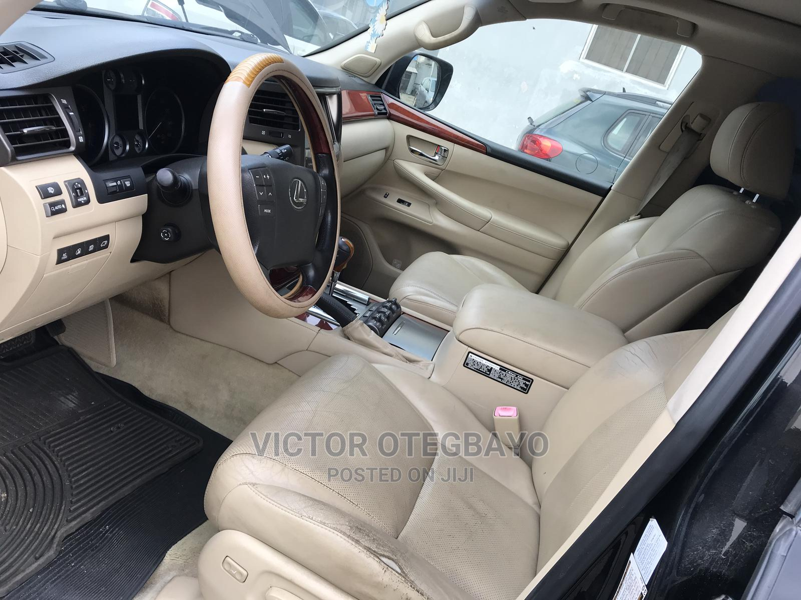 Lexus LX 2009 570 Black   Cars for sale in Ikeja, Lagos State, Nigeria
