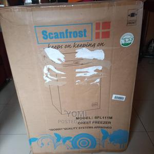Brand New Scanfrost Chest Freezer - SFL111M | Kitchen Appliances for sale in Lagos State, Amuwo-Odofin