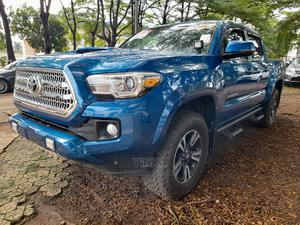 Toyota Tacoma 2016 4dr Double Cab Blue | Cars for sale in Lagos State, Ikeja
