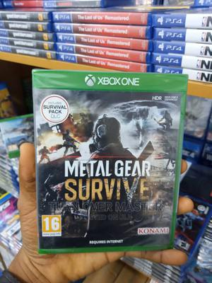 Xbox One-Xbox Series X Metal Gear Survive | Video Games for sale in Lagos State, Ikeja