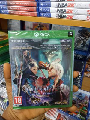 Xbox One-xbox Series X Devil Maycry 5 | Video Games for sale in Lagos State, Ikeja