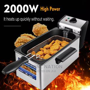 Electric Deep Fryer 3L French Frie Frying Machine Oven Hot | Kitchen Appliances for sale in Lagos State, Lagos Island (Eko)