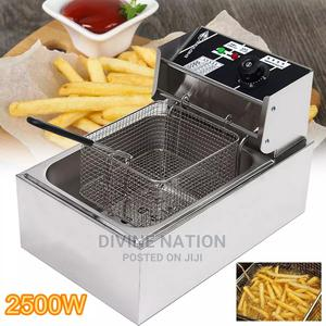 Electric Deep Fryer Multifunction Grill Oven Chicken 6L | Kitchen Appliances for sale in Lagos State, Lagos Island (Eko)