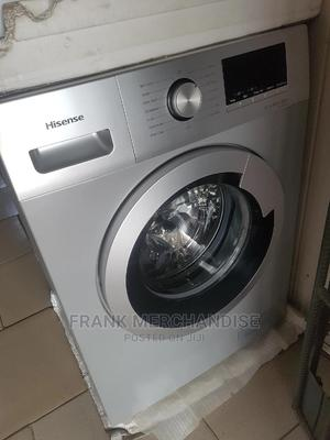 Hisense Washing Maching 10KG Autimatic Washing And Dry   Home Appliances for sale in Lagos State, Amuwo-Odofin