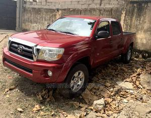 Toyota Tacoma 2008 4x4 Access Cab Red | Cars for sale in Lagos State, Amuwo-Odofin