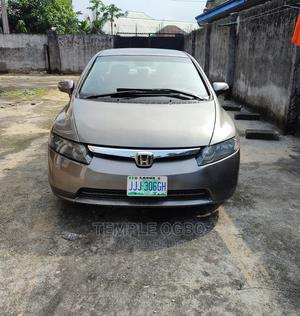 Honda Civic 2007 1.8 Sedan EX Automatic Gray | Cars for sale in Rivers State, Port-Harcourt