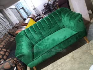 Green Fabric Sofa | Furniture for sale in Oyo State, Ibadan