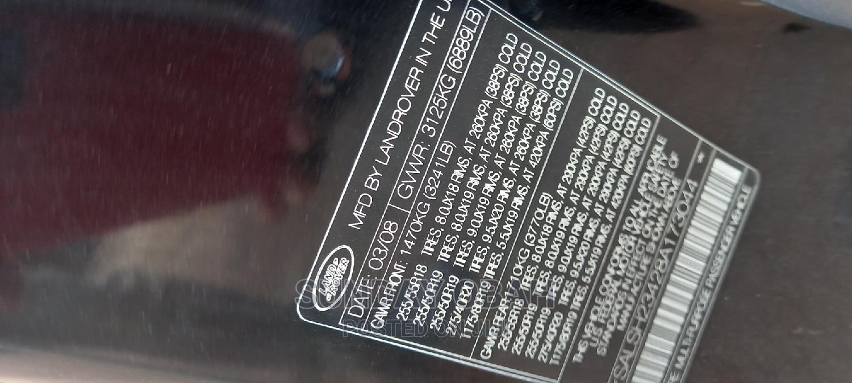 Land Rover Range Rover Sport 2008 4.2 V8 SC Black   Cars for sale in Ejigbo, Lagos State, Nigeria