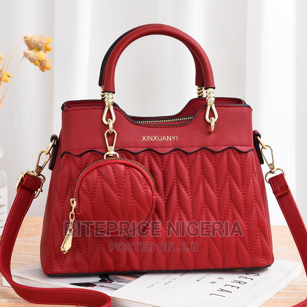 Ladies Wine Red Hand Bag