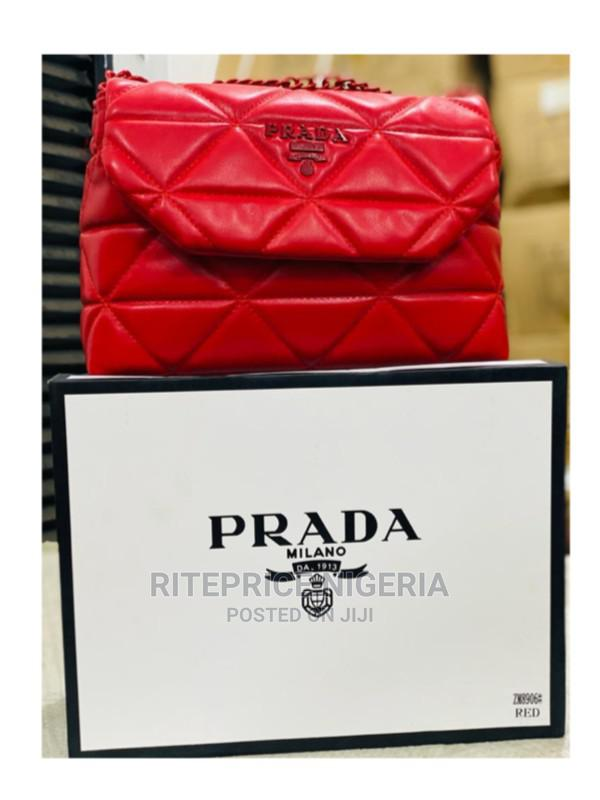 Prada Ladies Handbag - Red
