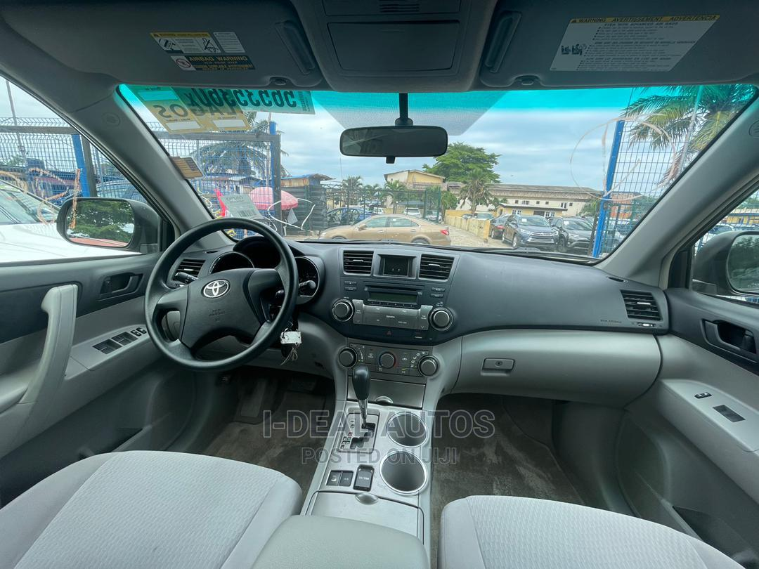 Toyota Highlander 2008 Gray   Cars for sale in Ajah, Lagos State, Nigeria