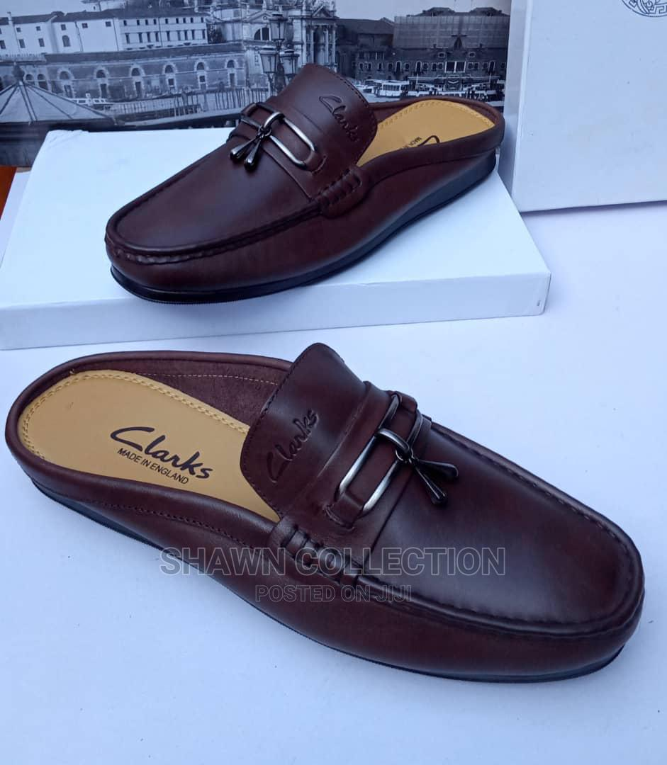 Clarks Leather Mules Loafers | Shoes for sale in Lagos Island (Eko), Lagos State, Nigeria