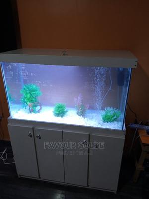 Constructed Aquarium Fish Tank   Fish for sale in Lagos State, Surulere