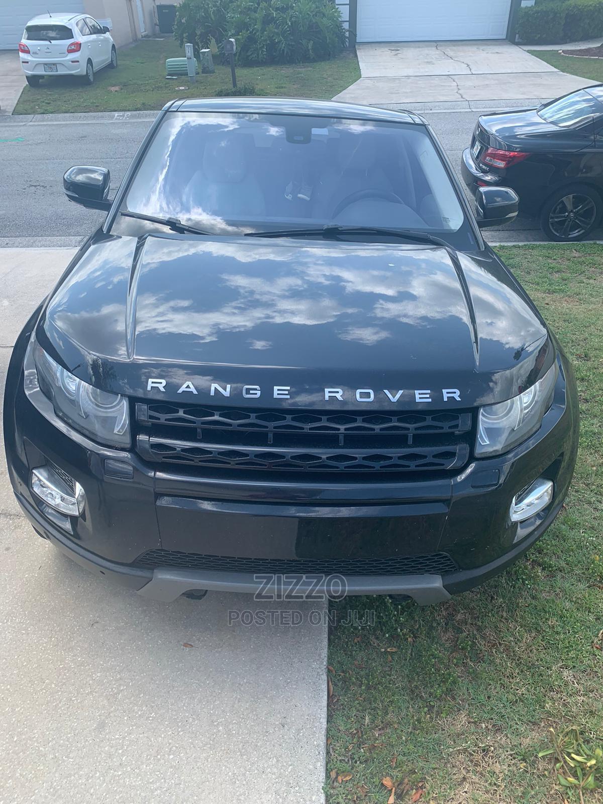 Archive: Land Rover Range Rover Evoque 2012 Black