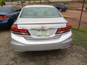 Honda Civic 2016 LX 4dr Sedan (2.0L 4cyl) Silver   Cars for sale in Abuja (FCT) State, Lokogoma