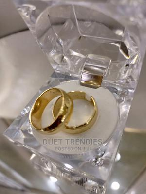 Gold Steel Wedding Band | Wedding Wear & Accessories for sale in Lagos State, Surulere
