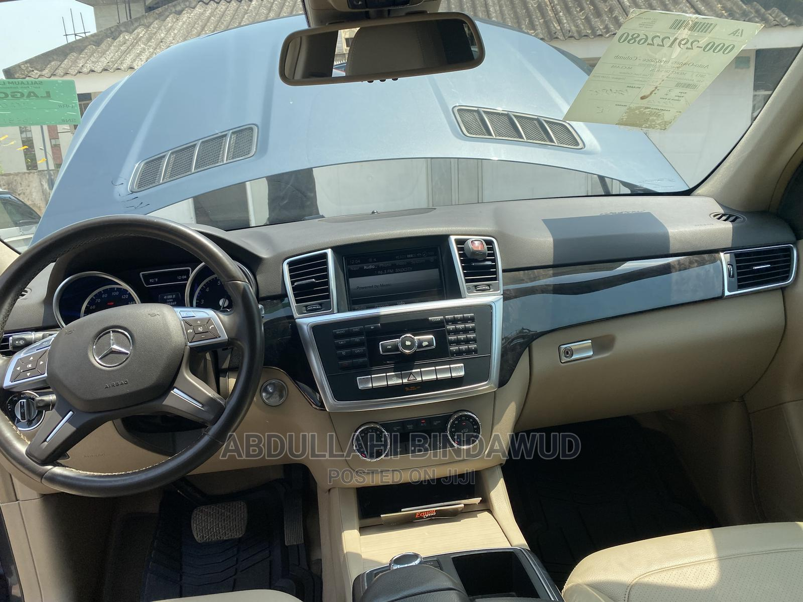 Mercedes-Benz M Class 2014 Blue   Cars for sale in Wuse 2, Abuja (FCT) State, Nigeria