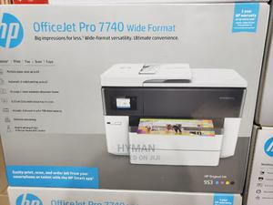Hp Officejet Pro 7740 Wide Format All-In-One Printer | Printers & Scanners for sale in Lagos State, Ikeja