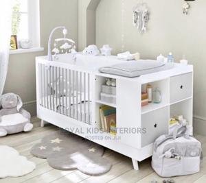 Convertible Baby Cot With Side Storage | Children's Furniture for sale in Lagos State, Ikeja