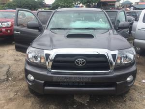 Toyota Tacoma 2010 Double Cab V6 Automatic Gray | Cars for sale in Lagos State, Amuwo-Odofin